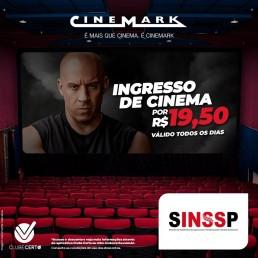 Clube de Vantagens SINSSP: hoje é dia de desconto e de cinema.